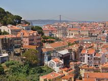 Over the roofs of Lisbon - Portugal