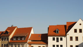 Over the rooftops Royalty Free Stock Image