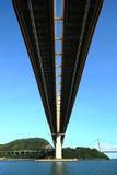 Over sea bridge Stock Image