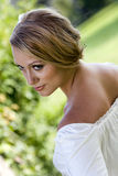 Over the shoulder Royalty Free Stock Images