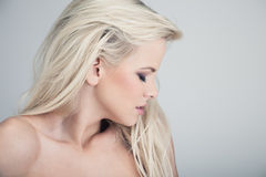 Over a shoulder Royalty Free Stock Photography