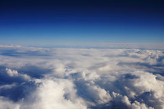 Over the sky Stock Image