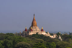 Over The Temples of Bagan Royalty Free Stock Photo