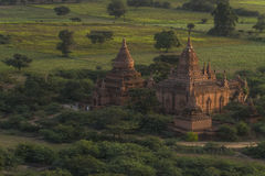 Over The Temples of Bagan Stock Photography