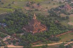 Over The Temples of Bagan Royalty Free Stock Image
