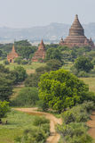 Over The Temples of Bagan Royalty Free Stock Photography