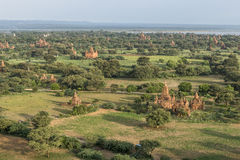 Over The Temples of Bagan Stock Image
