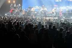 Over ten thousands people attend the Viktor Drobysh 50th year birthday concert at Barclay Center Stock Photo
