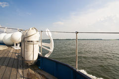 Over view from a boat deck Royalty Free Stock Photography