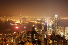 Over view of Hongkong Stock Images