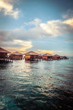 Over water bungalow Royalty Free Stock Image