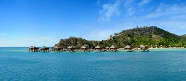 Free Over Water Bungalows Stock Image - 19682921