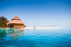 Over water bungalows Royalty Free Stock Photo