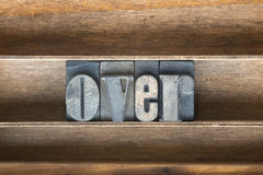 Over wooden tray Royalty Free Stock Photo