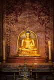 Over 300 year old Buddha statue  in Thailand. Stock Photography