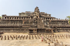 Overall view of Ba Phuon Temple, Angkor Thom, Siem Reap, Cambodia. Stock Photography