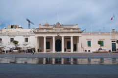 Overall view of the Freedom Square in valletta , malta Stock Photo