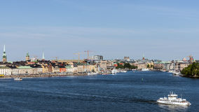 Overall view on Gamla stan Stock Photography