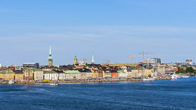Overall view on Gamla stan Royalty Free Stock Photo
