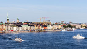 Overall view on Gamla stan Stock Photo