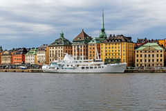 Overall view on Gamla stan Royalty Free Stock Images