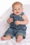 Overalls five. Baby Overalls Five Stock Photos