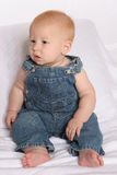 Overalls seven Royalty Free Stock Image