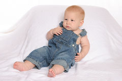 Overalls three Stock Image