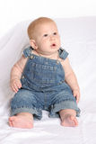 Overalls Two Stock Photo