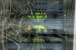 Overbelast netwerkconcept Stock Afbeelding