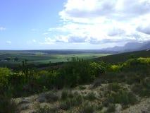 Overberg landskap Arkivbild