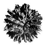 Overbevolkte Planeet stock illustratie