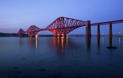 Overbrug vooruit, Edinburgh, Schotland Royalty-vrije Stock Afbeeldingen