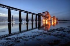 Overbrug vooruit, Edinburgh, Schotland Royalty-vrije Stock Foto's