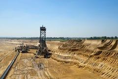 Overburden excavators Royalty Free Stock Photography
