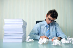 Overbusy Stock Image