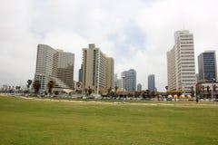 Overcast в Тель-Авив Стоковая Фотография