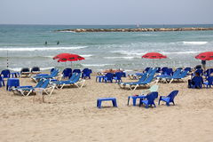Overcast в Тель-Авив Стоковые Изображения RF