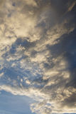 Overcast. Anticyclone. Weather forecast. Cumulus clouds against a blue sky. Overcast. Anticyclone. Weather forecast stock photos