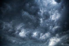Overcast clouds. Stock Photography