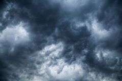 Overcast clouds. Royalty Free Stock Image