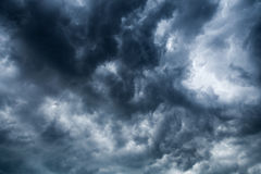 Overcast clouds. Royalty Free Stock Photos