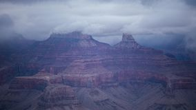 Overcast Skies in The Grand Canyon