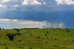 Overcast cloudscape Stock Image