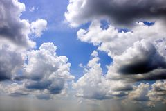 Overcast Cloudy Sky Stock Image