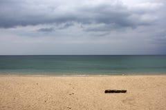 Overcast scyscape under ocean Stock Photo