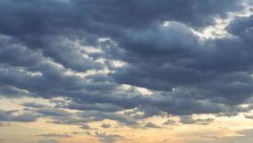 Overcast skies Stock Photography