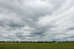 Overcast skies before the rain. Royalty Free Stock Photography