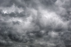 Overcast skies. In the rainy season, The sky looks awesome stock images