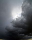 Overcast sky with storm clouds Stock Photos